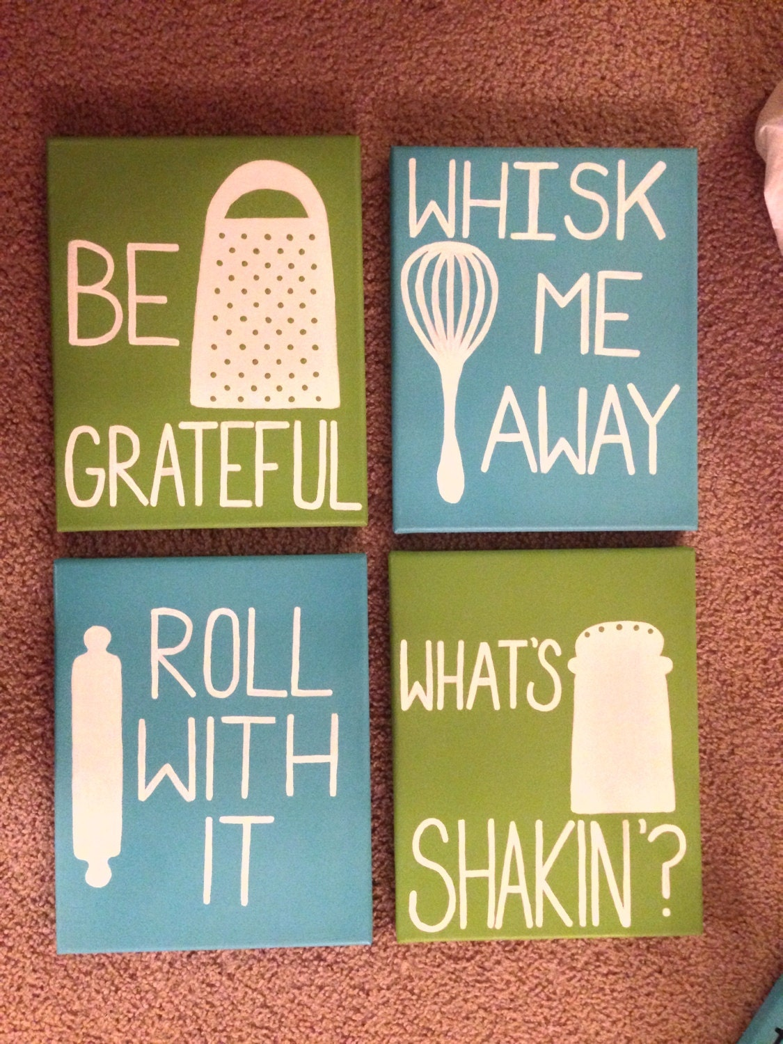 Custom Made Quote Canvases