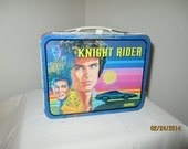 SALE - Vintage Knight Rider Lunchbox - FREE SHIPPING