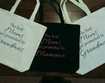 Large Personalized Mothers Day Tote