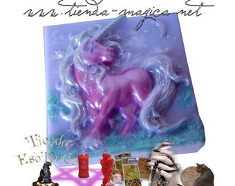 Aromatic essence of lavender Unicorn, Unicorn soap lavender aromatic SOAP