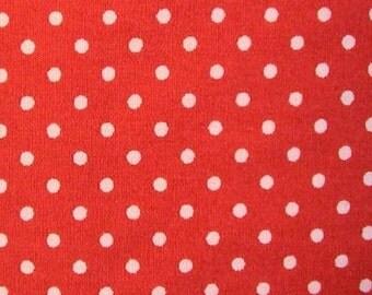 "Sienna - 100% Cotton Poplin Dress Fabric Material - 3mm Polka Dot / Spot - Metre/Half - 44"" (112cm) wide"