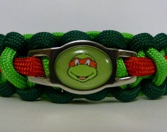 Teenage Mutant Ninja Turtles Paracord Bracelet
