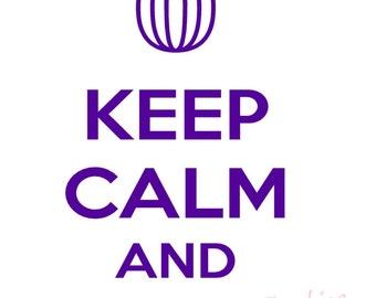 Keep Calm Mixer Decal