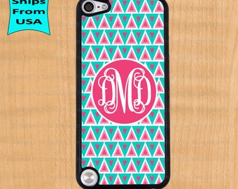 Monogram iPod 5 Case, Monogram iPod Cover, Monogram iTouch 5 Cases, Cute iPod touch 5th generation Case