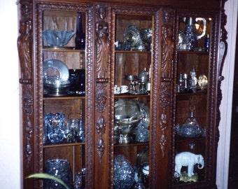 Oak key cabinet | Etsy