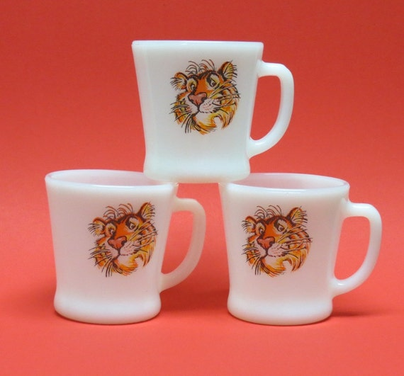 Tony the Tiger Coffee Cups from the 1960s Esso by ...