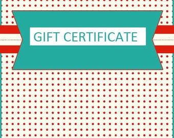 Make Me Pretty Shop Gift Certificate 10.00 GBP voucher