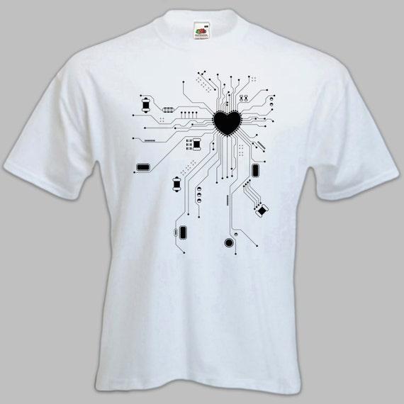 Mens Geek 39 Tshirt Super Cool Computer By Kinkynewttees On
