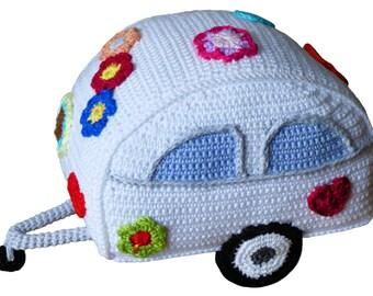 Crochet Pattern (002): Hippie Trailer