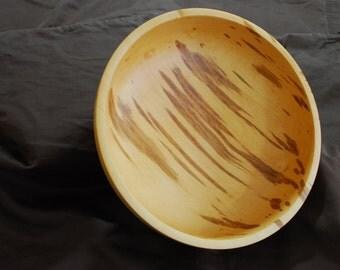 "8"" Pear Wood Bowl"