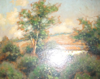 VISION OF SPAIN-George Drew Landscape Signed and Dated