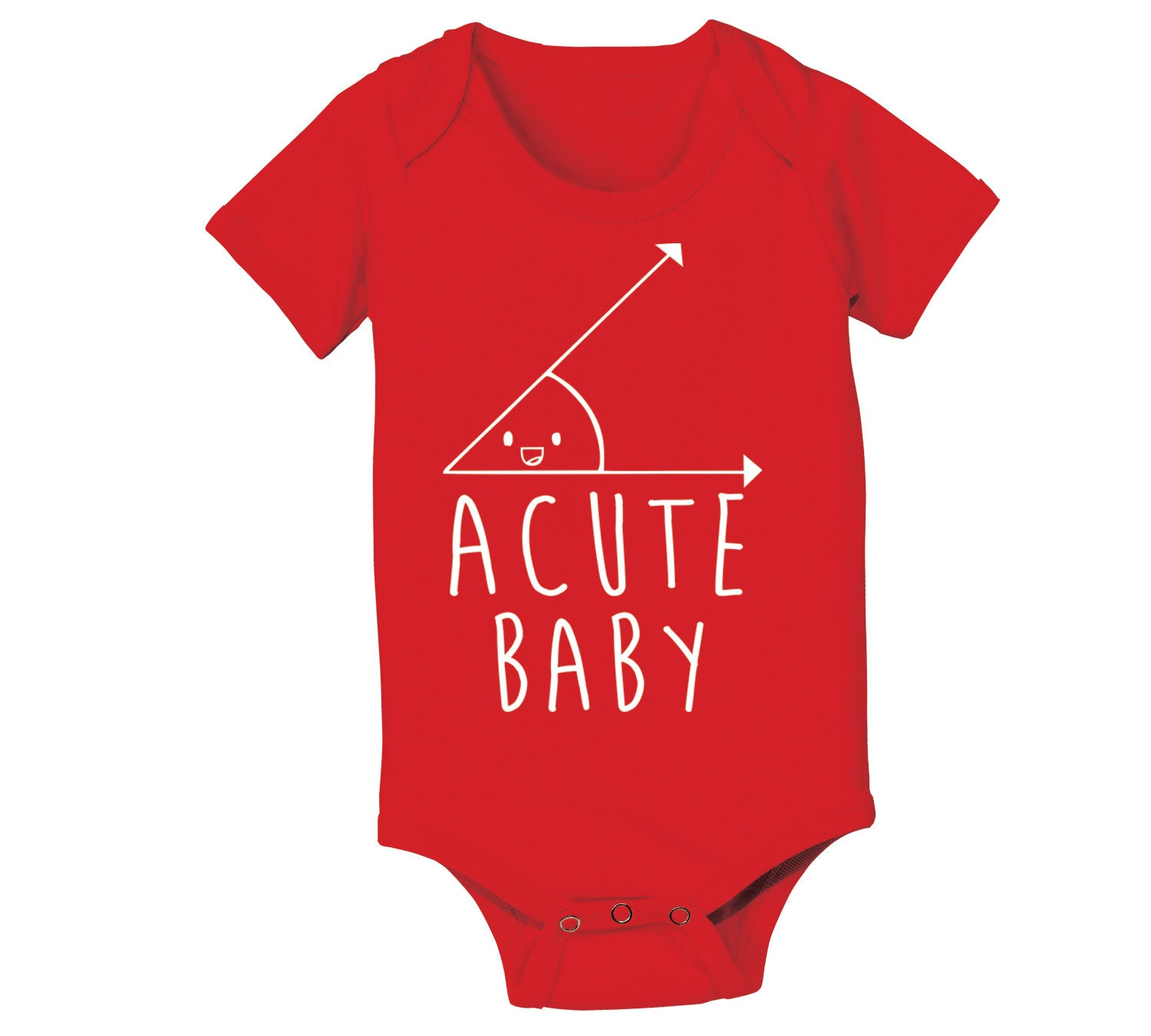 Acute Baby Funny Cute Humorous Geek Baby Boy Girl By Teestoyou
