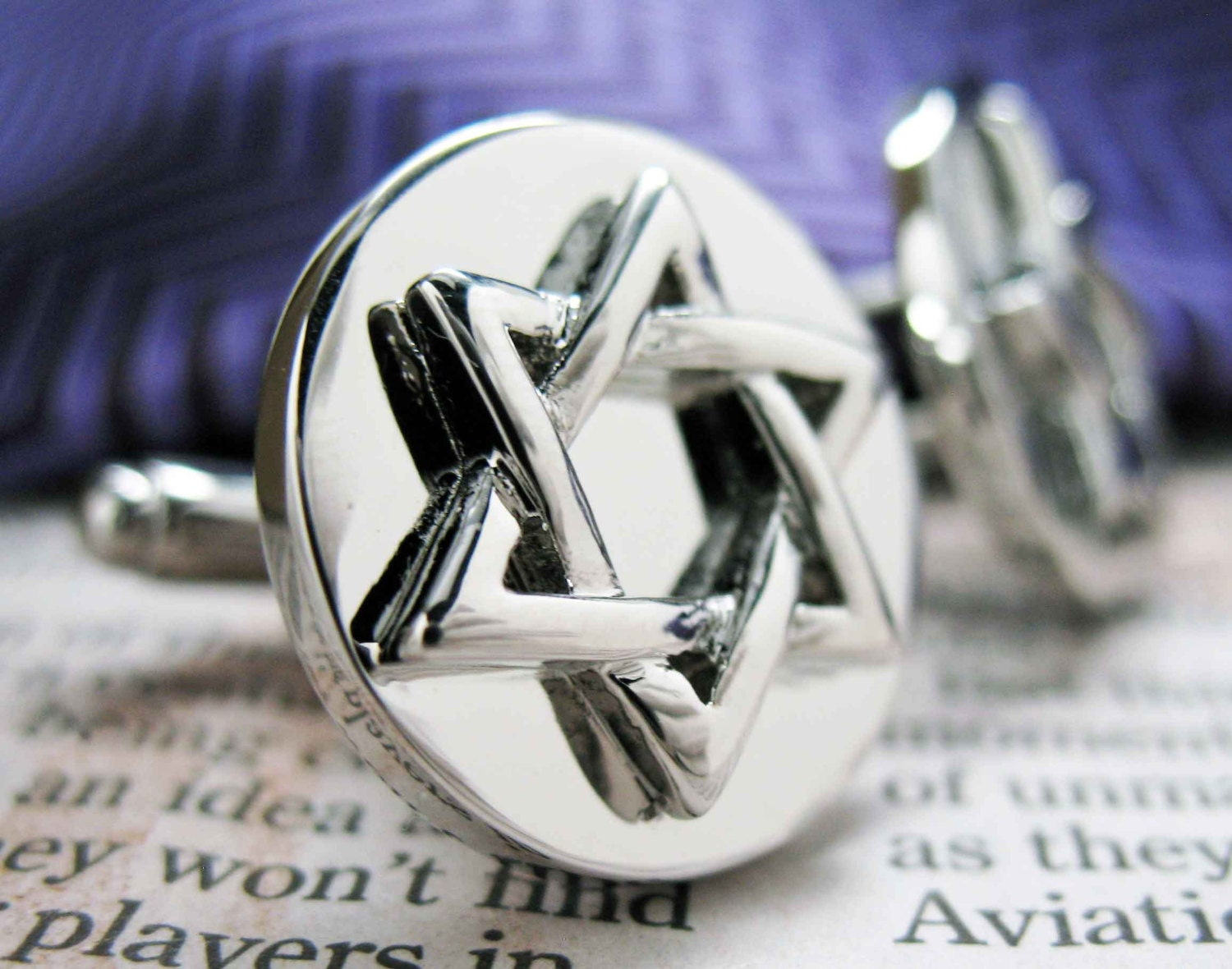 Star of david cufflinks jewish religious symbols hanukkah faith star of david cufflinks jewish religious symbols hanukkah faith bar mitzvah shield of david magen david biocorpaavc Gallery