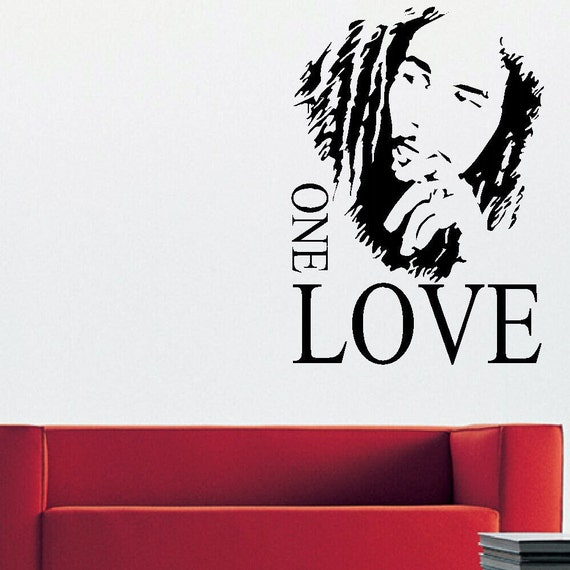Bob marley large kitchen wall mural giant art graphic sticker for Bob marley mural