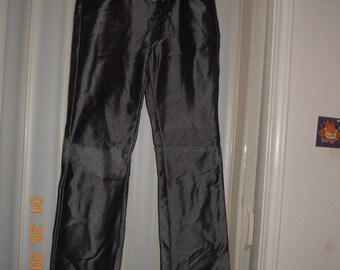 Hematite shimmer jeans
