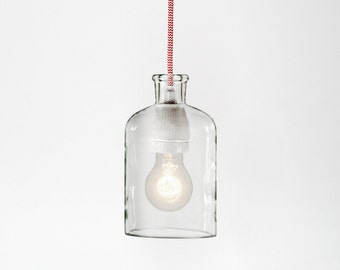 Red & White Pendant Lamp