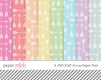 Arrow Paper Pack // JPEG // Instant Download