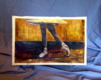 Tendu - Dancer Painting