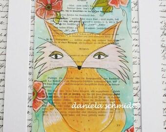 """Print """"little fox"""""""