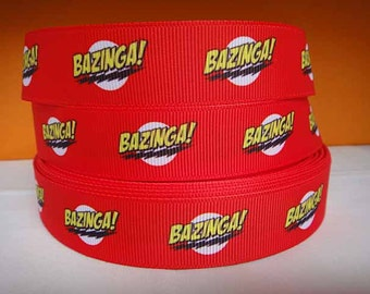 3 yards grosgrain ribbon 7/8 inch wide - Bazinga