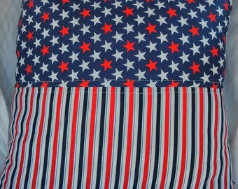 Stars and Stripes Pillow Cover