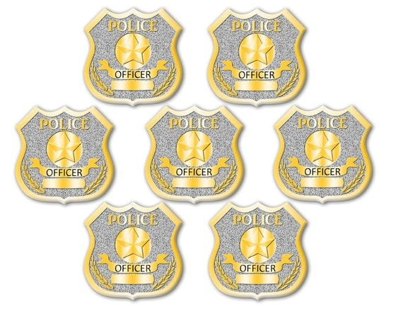 Magic image for printable police badges