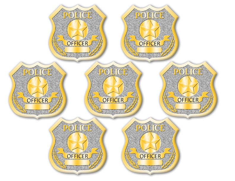 It's just a photo of Eloquent Printable Police Badges