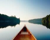 Canoe on Still Waters