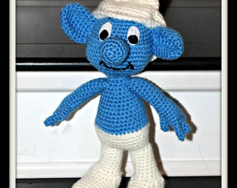 Crochet Smurf Doll