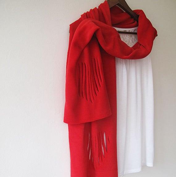fleece scarf scarves fleece scarf by