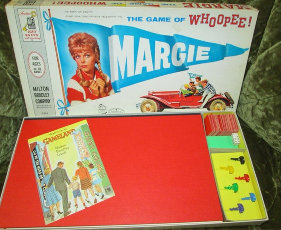 board game by milton bradley vintage cable tv show by friendsretro. Black Bedroom Furniture Sets. Home Design Ideas