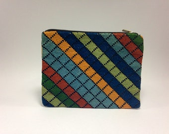 Vintage 70's zipper pouch