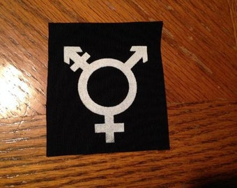 Transgender Punk Patch
