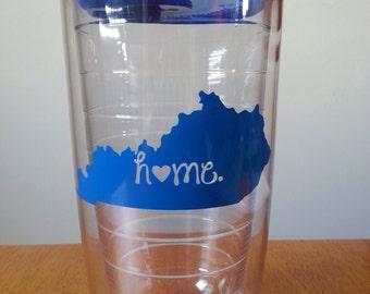 "Kentucky ""home"" Tumbler [blue]"