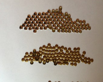 Flat Back Studs 100ct 6mm ROUND Studs - Iron On, Hot fix or Glue on for Clothes, iPhone case