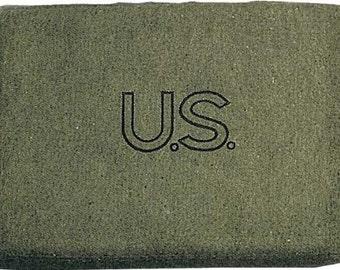 WWII WW2 US Army Wool Blanket