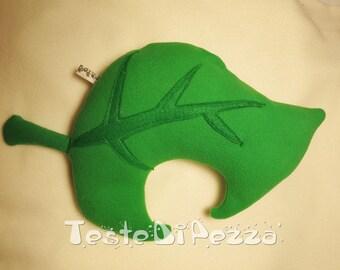 Animal Crossing New Leaf - leaf plush pillow