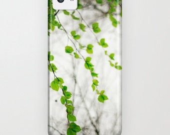 iPhone case. iphone 5 5c 5s, phone cover, fine art case, Green minimalistic iPhone Cover. iPod touch 5th gen, samsung galaxy