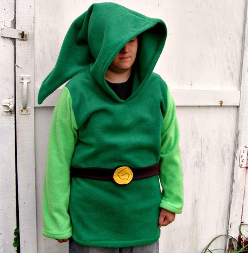 Link costume hoodie