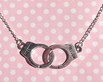Kinky Handcuffs Necklace