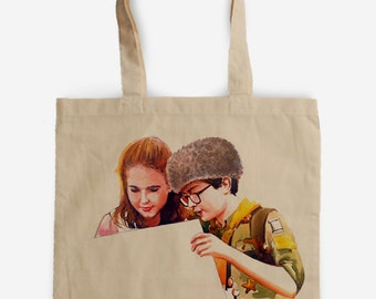 Moonrise Kingdom Tote Bag - A tribute to Wes Anderson