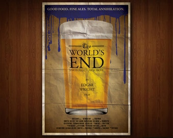 The World's End Poster (Multiple Sizes)