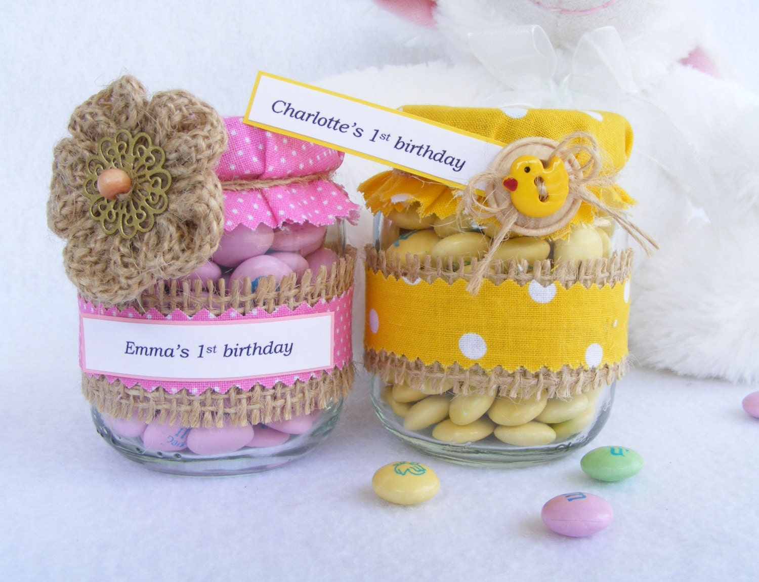 baby shower favors in jar rustic diy baby by inspiredbynewday