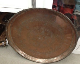 "Copper Tray Star De 28"" By 28"""