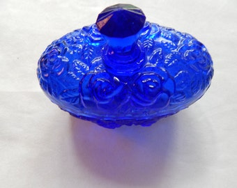 Dark Blue Covered Dish