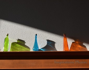 Colored Bottles 8 x 10
