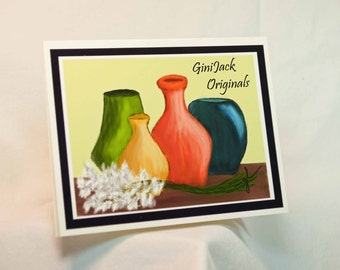 Original Art Blank Note Cards
