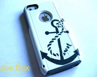 Otterbox iPhone 5C case,case cover iPhone 5C otterbox,iPhone 5C otterboxglitter case,otterboxiPhone 5C,glitter otterbox,Anchor otterbox case