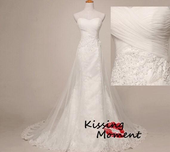 Elegant Princess Ivory Lace Wedding DressesBest By