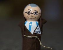 St. Maximilian Kolbe Peg Doll